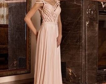 Sexy pink dress, Evening gown, Open back cocktail dress Sleeveless formal dress evening dress Mother of the bride dress, Pink prom dress