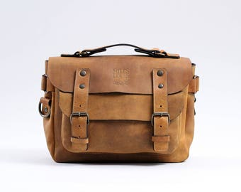 Small Messenger Bag (Honey)