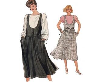 Women's Jumper and Top Sewing Pattern Misses Size 6, 8, 10 Uncut Vintage Vogue 8978