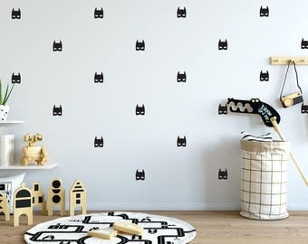 batman mask wall decal choose your color batman decals batman wall decals - Design Wall Decal