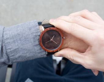 Wood Watch, Personalized Wooden watch, Mens Watch, Groomsmen Gift, Anniversary gift, Mens Wooden Watch, Wood Watch for Men, Wedding Gift