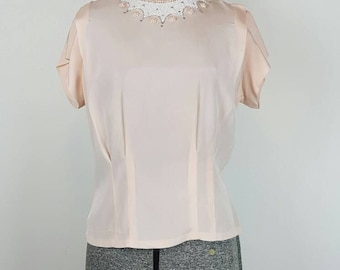 Gorgeous 1940's Beaded Blouse