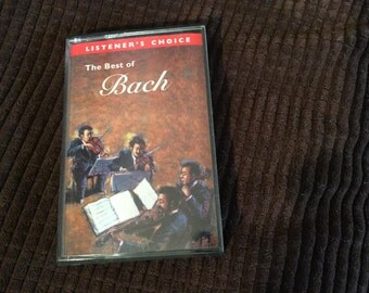 The Best of Bach Cassette Tape, Listener's Choice