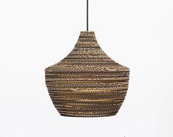DAO. Corrugated cardboard lamp