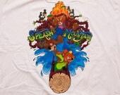 NWT Splash Mountain T-Shirt, Walt Disney World Resort XXL Tee, Vintage 90s, Brer Rabbit Song of the Soung Cartoon Movie I Survived the Ride