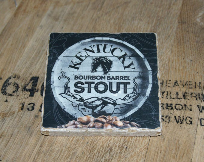 UPcycled Coaster - Alltech - Kentucky Bourbon Barrel Stout