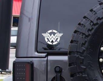 Wonder Woman Sticker Etsy - Create car decalsanime decal etsy