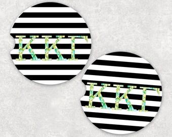 Kappa Kappa Gamma Car Coaster, Sorority gift, Big Little Gift, Kappa Kappa Gamma Gift, KKG