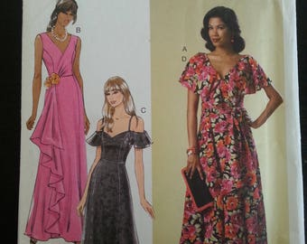 Butterick 6052 -Butterick pattern Misse's Dress and Sash - sizes 6-8-10-12-14