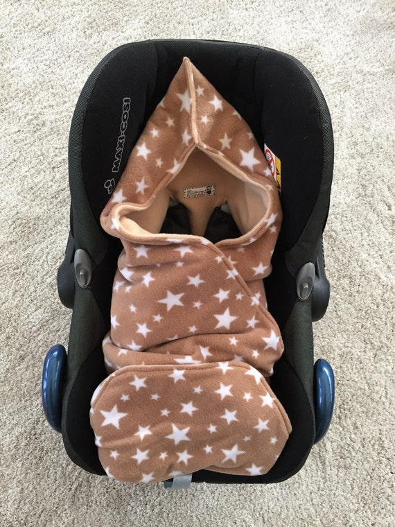 Baby Car Seat Blanket Car Seat Cosy Car Seat Wrap Buggy