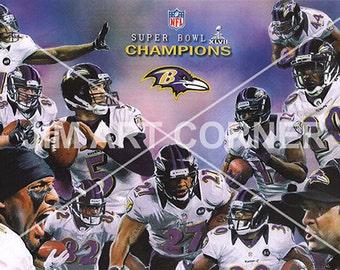 Ravens 2013 Super Bowl Team