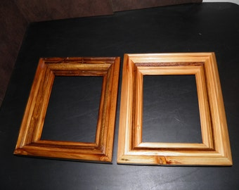 8 x 10 handcrafted wooden frames winlay banding - Wooden Frame