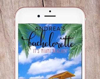 Miami Beaches Bachelorette Party