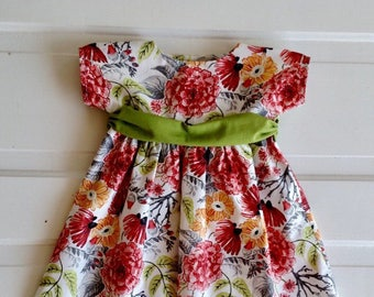 baby girl dress- size 12-18 month dress- baby girl outfit- baby girl special occasion dress-wedding dress- toddler dress