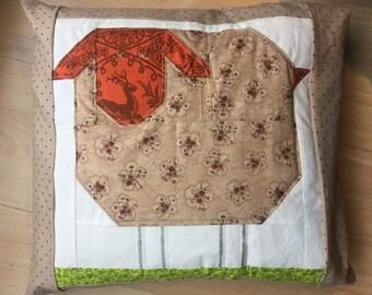 Wooly Sheep Pillow - Sheep Baby Bedding -Toddler pillow - Pillow cover - Pillowcase - Baby bedding