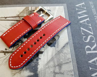 Handmade watch strap! Italian cow leather