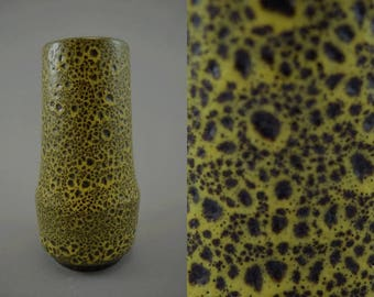 Vintage vase made by Scheurich / 529 18   West German Pottery   60s