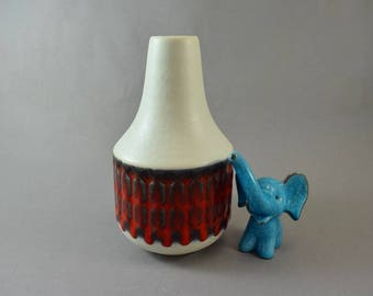 Vintage vase made by Jasba / 1491 20 | West German Pottery | 60s