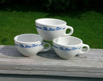 Vintage Sterling restaurant ware coffee cups set of 3