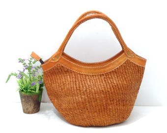 Catty Leather Hand bag
