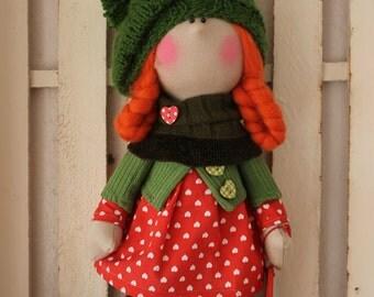 Doll tilda decorative
