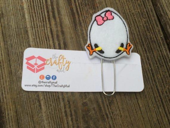 Egg Planner Clip/Planner Clip/Bookmark. Easter planner clip
