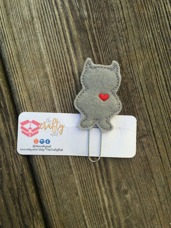 Where The Wild Things Are Clip/Planner Clip/Bookmark. WTWTA. Monster planner clip