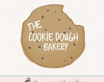 cookie logo design bakery logo bakers logo baking logo sweet shop logo premade logo cookie blog logo cookie decorating logo watermark logo