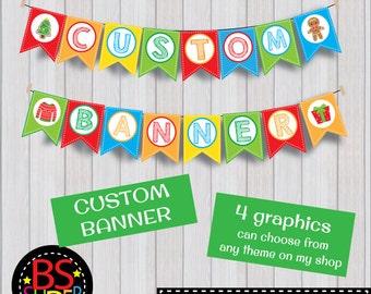 Custom Banner , Custom Message Banner