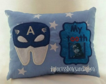 Tooth fairy pillow captain