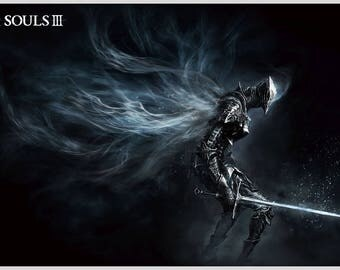 "1x Dark Souls III home decor game poster print (20"" * 32"")inches - MY7671"