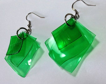 upcycled green squares