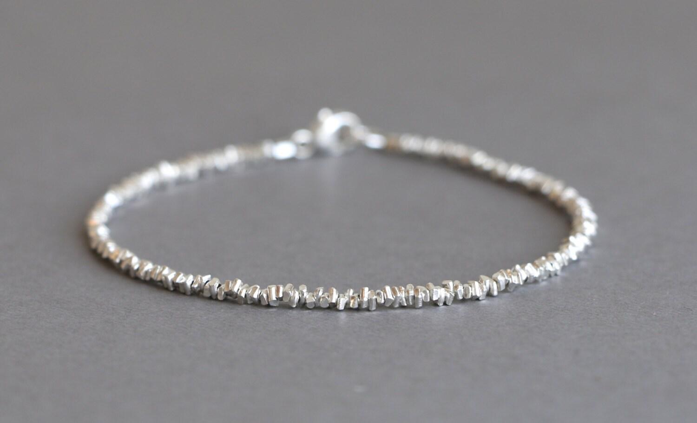 Hill Tribe Silver Bracelet Simple Silver Bracelet Stacking