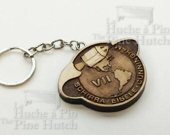 Keychain Apollo VII mission