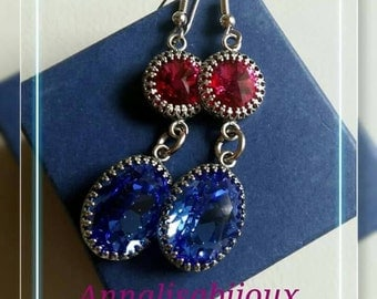 Bridal-BRIDESMAIDS-invited: SWAROVSKI EARRINGS SUITABLE EVEN for EVENTS IMPORTANT to order