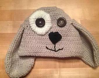 Custom Crochet Puppy Hat