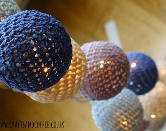 Crochet Light Spheres *PDF Pattern*