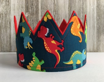 Dinosaur Crown, Dinosaur Party Hat, Dinosaur Birthday Party, Child Dino party hat, Dinosaur, Dinosaur Party, Boys dinosaur party hat, Crowns