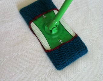 Crochet Pattern Mop cover for dusting .