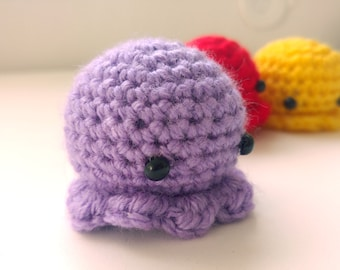 Octopus Christmas Ornament, Underwater Amigurumi, Octopus Stuffed Animal, Squid Plush, Kawaii Squishies, Cute Gifts For Sister, doll Saroogi