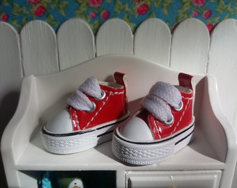 Red low shoe for Blythe and Pure Neemo