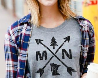 MINNESOTA T-Shirt - TriBlend Tee - Soft