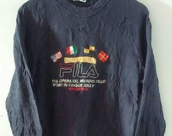 Vintage FILA Sweatshirt Size M