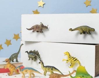 Dinosaur Knobs Dinosaur Drawer Knobs Dinosaur Door Knobs Dinosaur Bedroom Decor Dinosaur