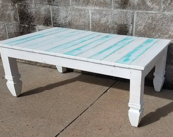 Reclaimed wood coffee table - farmhouse furniture - farmhouse decor - farmhouse furniture - farmhouse decor - free shipping