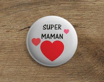 Badge super MOM
