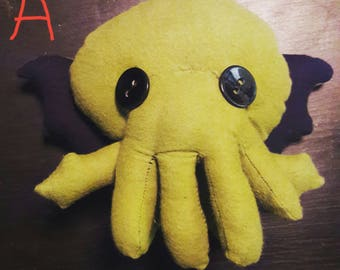 Cthulhu stuffed animals