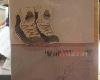 Pair of Trainers Birthday Card