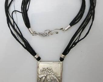 027 Dvora Logo Necklace