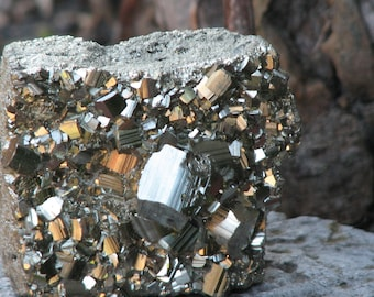Paw Pyrite Crystal Chunk - Golden Devine